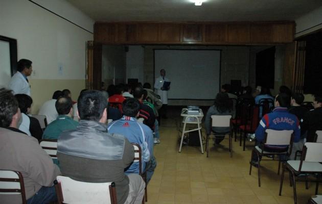 """El documental del director Rodrigo Magallanes """"Solo Conocido por Dios"""", llegó a la Unidad Penitenciaria Nro. 15 de Río Gallegos"""