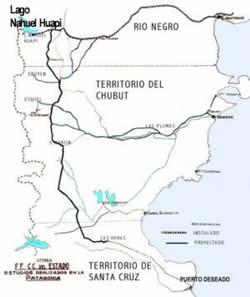 En Puerto Deseado se celebrará otro aniversario de la inauguración del Ferrocarril Nacional Patagónico