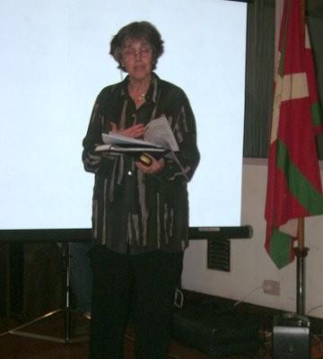 La Casa de la Cultura Vasca, ofreció un espectáculo de danzas, música, coro y gastronomía de primer nivel