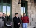 Una donación revivió el recuerdo del tren de Puerto Deseado