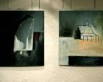 El artista plástico Eliseo Rabbi Baldi expuso la muestra Frontera