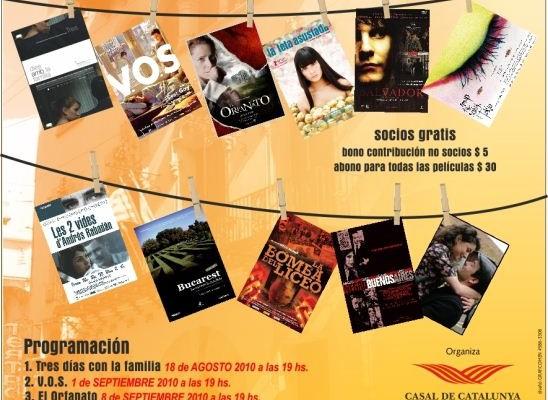 Ciclo de Cine catalán en el Casal de Catalunya de Buenos Aires