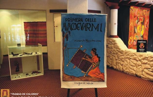 """""""Tramas de Colores"""" y textiles andinos en Casa de Salta"""
