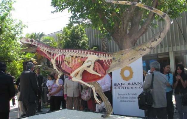 Sanjuansaurus, un nuevo dinosaurio para San Juan