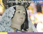 La virgen de Itatí convoca a miles de fieles en Corrientes