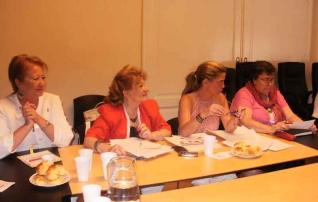 Victoria Cristóbal Araujo visitó Buenos Aires