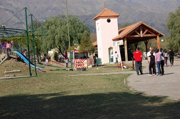 En Merlo se encuentra abierta al público la pileta del Parque Recreativo