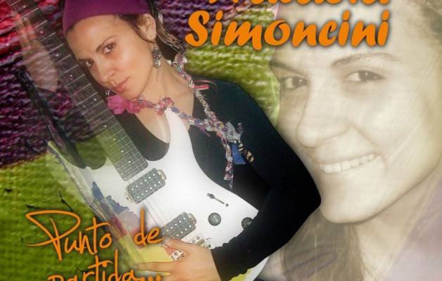 "Natalia Simoncini, presentó su disco ""Punto de Partida"""