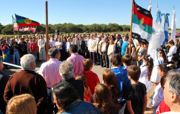 """La """"Autopista por la Paz del Mundo"""" se inauguró en Villa Mercedes, San Luis"""
