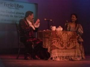 Edgardo Mendoza (historiador de la provincia) e Irene Ferreyra