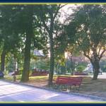 Plaza Libertad. Ciudad de Santiago del Estero