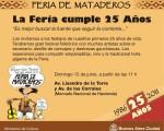 La Feria de Mataderos festeja sus 25 años de existencia