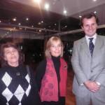 Inés Echenique, Elisa Bianchi Di Carcano y doctor Sergio Etchart