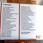 """Poema de Agüero """"Yo presidente"""""""