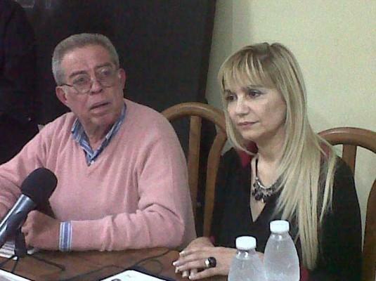 Daniel Alterats y Analía Liba