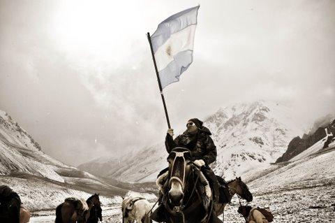 Cruce de los Andes. Antonella Riboli