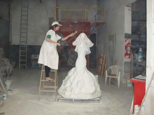 Alicia C. Braschi en la Empresa Molinos Tarquini