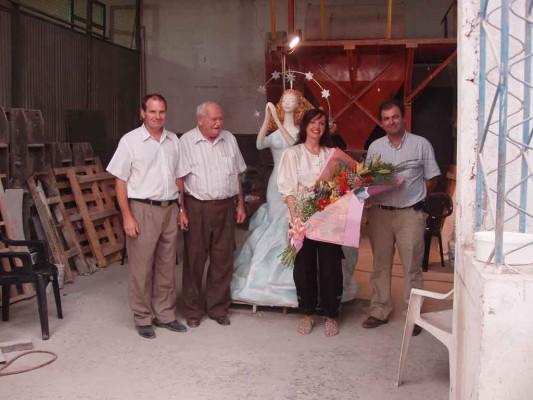 (de izq. a derecha) Carlos Tarquini; Nello Tarquini (Padre); Alicia Cabrera Brashi, Guillermo Tarquini