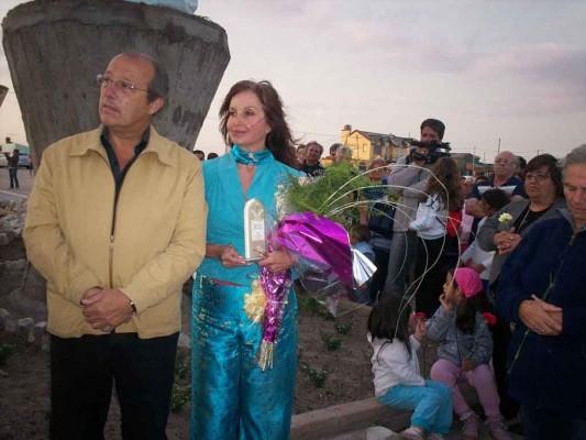 Intendente de Mar Chiquita, Don Jorge Paredi y Alicia C. Braschi