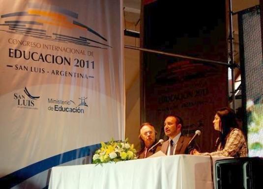 Ministro de Educación de la Provincia, Dr. Marcelo Sosa