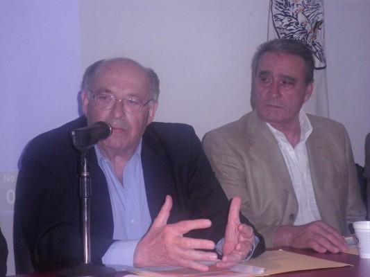 Doctor José LuisVidaller Nieto y Pedro Bello.