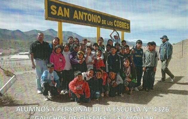 El Tren a las Nubes. El tren de los Salteños llevó 400 niños hasta la Puna