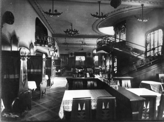 Interior de la Ex Cervecería Munich