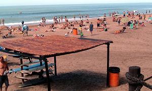 Playa de Villa Gesell