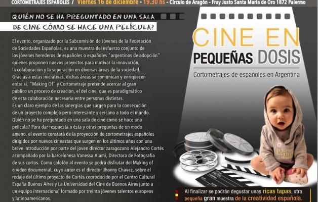 """¿Cómo se hace una película? Cineastas españoles y argentinos en """"Making of"""" y Cortometrajes"""