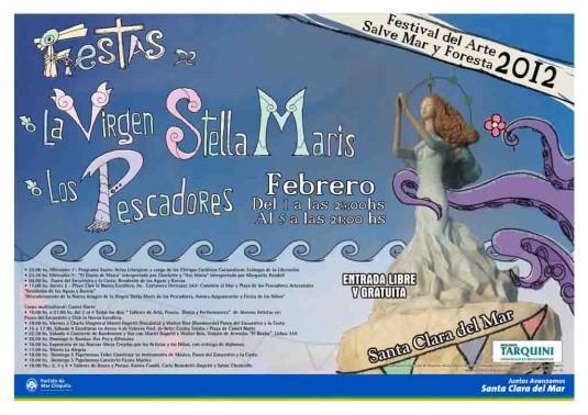 Fiestas de la Virgen de Stella Maris y de los Pescadores Afiche 03