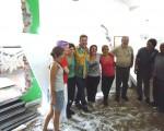 Los Carnavales del Mundo es la carroza alegórica de Villa Mercedes, supervisada por Milton Cunha