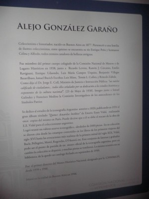 Alejo González Garaño. Primer director del Museo Histórico Nacional designado por la CNMMLH