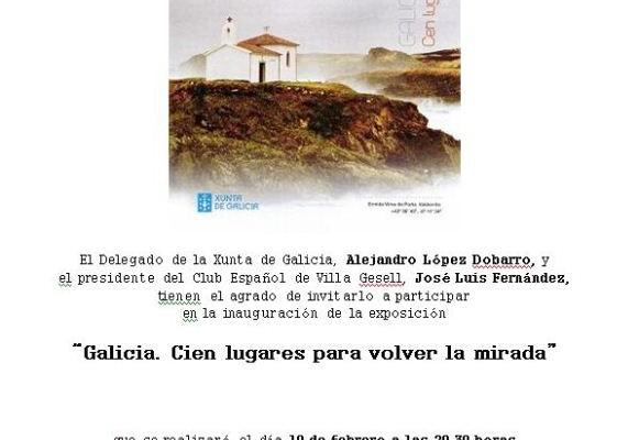 Galicia. Cien lugares para volver la mirada