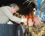 Río en San Luis convocó a cuarenta mil personas en Potrero de los Funes
