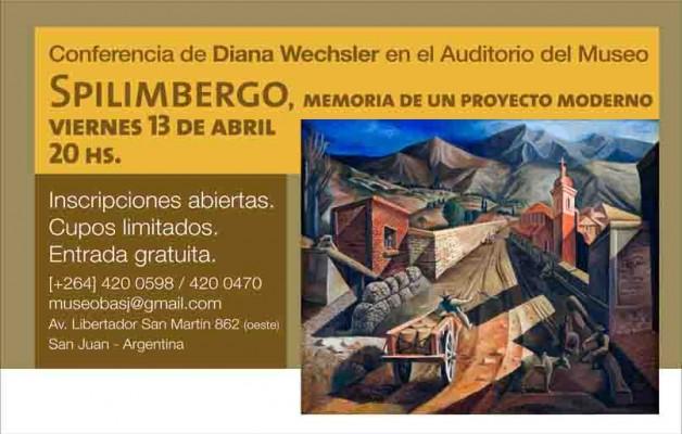 """El Museo Provincial de Bellas Artes Franklin Rawson presenta """"Spilimbergo. Su vida en San Juan"""""""