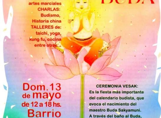 El baño del Buda se celebrará en el barrio chino de Buenos Aires