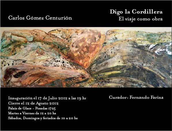 Carlos Gómez Centurión - Invitación