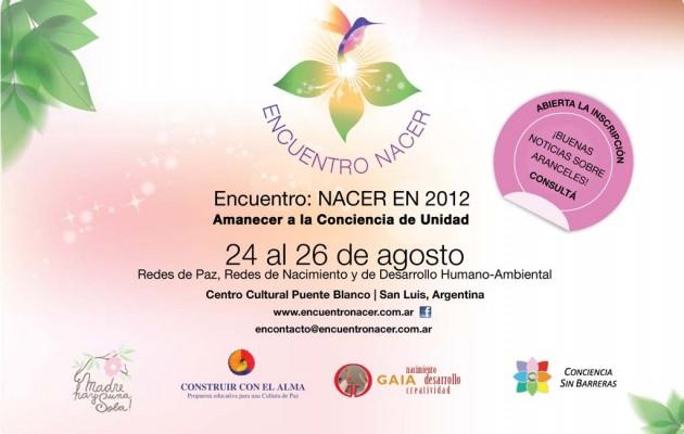 Encuentro Nacer en 2012