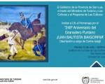 248° Aniversario del Granadero Puntano JUAN BAUTISTA BAIGORRIA