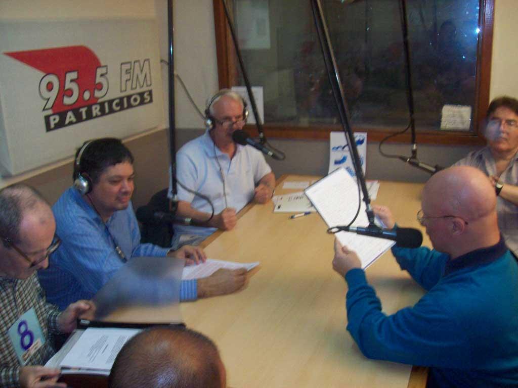 Raúl Peloni en la radio