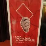 Sacá Tarjeta Roja al maltratador