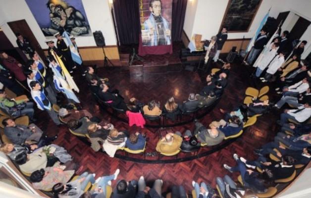 El General San Martín fue homenajeado en San Luis