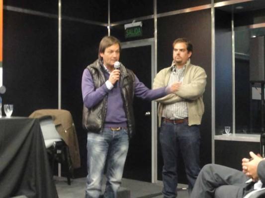Ministro del Campo y presidente de San Luis Agua, Felipe Tomasevich