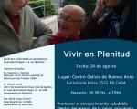 «I Jornadas de Mayores, Vivir en Plenitud»