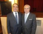 La despedida de don Julio Olmos Lablanca se realizó en el Salón Imperial del Club Español
