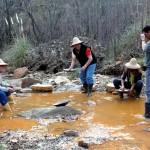 Busqueda de oro en La Carolina