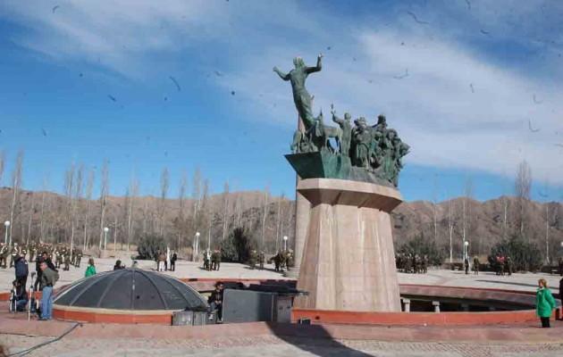 El Monumento al Pueblo Puntano de la Independencia es una  obra arquitectónica y escultórica dedicada al pueblo de San Luis