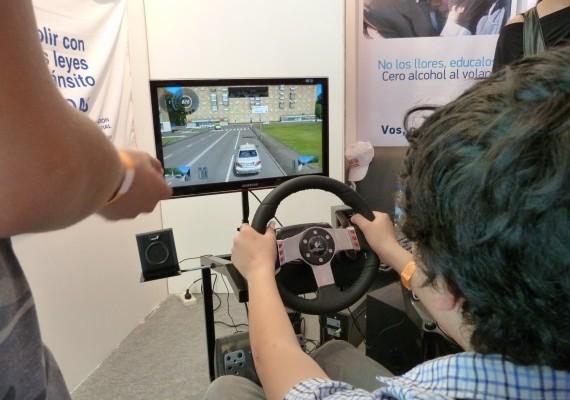 San Luis Digital 2012 presentó un simulador para manejo de autos