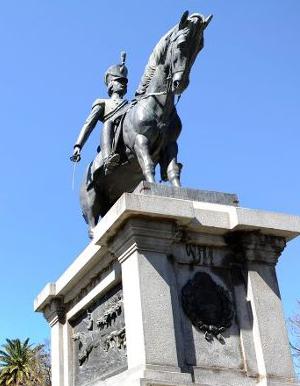 Rafael Radogna creó la Estatua Ecuestre del Coronel Juan Pascual Pringles