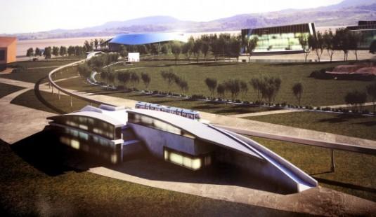 Futura Villa Olímpica que se construirá en La Ciudad de la Punta